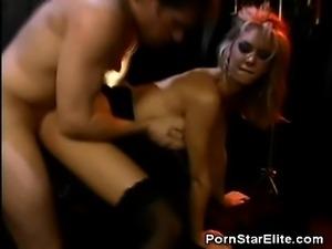 Brooke Banner Takes a Pounding
