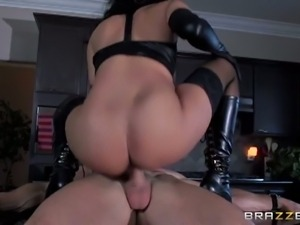 Isis love rides johnny sin's hard rod of meat