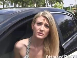 Disgrace That Bitch - Fucking random hottie on vacation