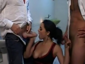FRENCH PORN 8 anal babe double penetration camping