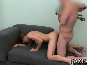 Explicit double blowjob