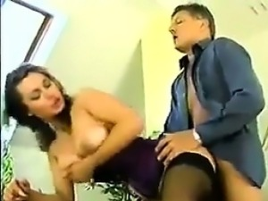 Horny Woman Seduces An Ugly Guy