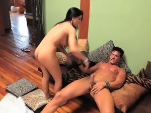 rebeca linares gets her big latina tits