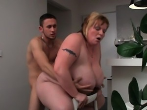 BBW craves cock in her wet fat pussy
