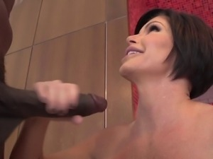 Busty MILF Fucked by BBC