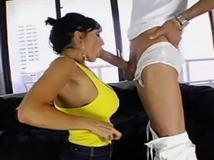 Ricki White vs HUGE cock