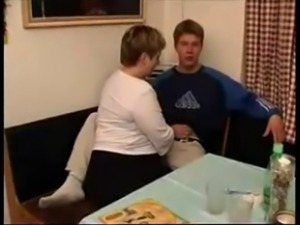 Mature BBW Fucked by Young Stud