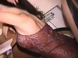 Beautiful Teen Doing A Striptease