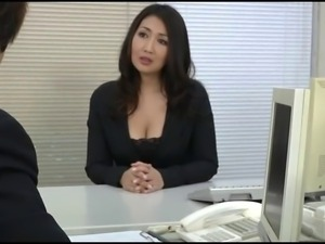Mature woman president, entertainment in the pussy