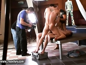 Blonde hooker Lee Lexxus satisfies her anal needs alone in solo action