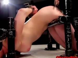 Lezdom bdsm being punished