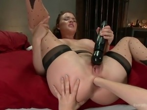 lesbians in love with anal activities