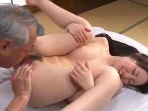 young girl likes old cock