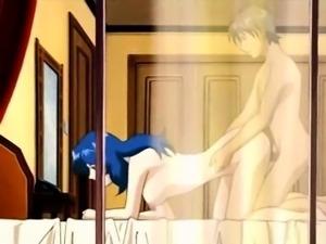 Taketo is blackmailing Yukie to get sex