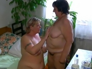 OldNanny Chubby fat granny and fat mature suck dick and lick pussy