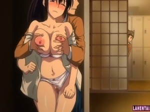 Hentai cutie gets fondled