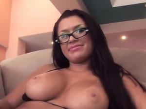 Eva Angelina Eva getting throatfucked