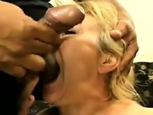 Blonde Granny Getting Fucked
