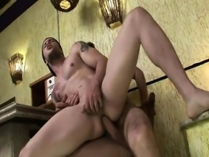 Wild Gay Latino Men Having Bareback Sex