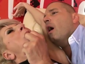 Anal fucked pierced mature butt drilled