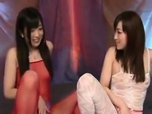 Japanese Lesbians In Lingerie