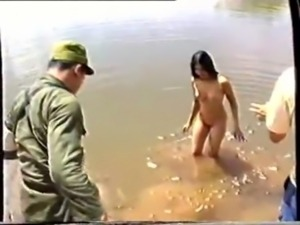 Thai Army and Village Girls free