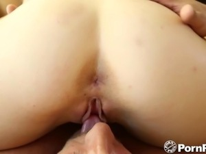 HD - PornPros Blonde deep throats her man