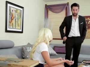 blonde with big tits gets fingered @ big tit fantasies #03