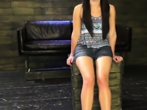 Dom picksup hitchhiker and gives her a facial
