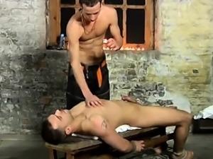 Gay XXX Luke is not always happy just deep-throating the jiz