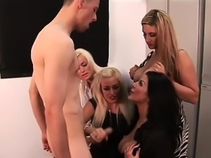 Clothed british babes jerk off moron