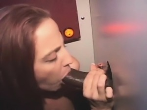 Red Headed Amateur MILF Cock Gobbler At A Glory Hole