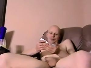 Twink movie Bi Guy Tastes His Load!