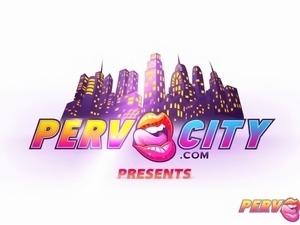 PervCity Angel Hot European Anal