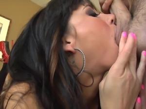katie jordin sucks a pair of balls