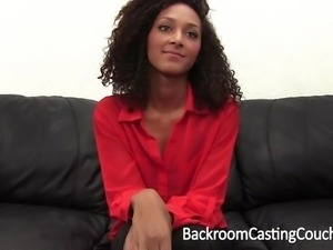 Interracial Casting Couch