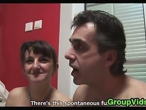 European Amateur Swingers Meet Up To Fuck