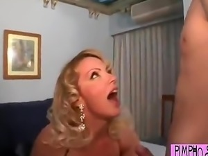 Legal-age Boy Partys With Whore Mom