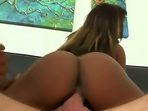 Aries Crush and Harmonie Marquise are ebony chicks with bubble butts that...