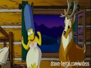 Simpsons Hentai - Cabin of love free