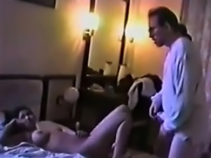 Busty Indian Whore Sucking A Customers Cock