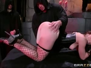 big butt mandy ass fucked at a ritual