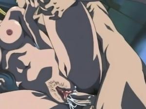 Hentai blondie rides guys hard cock