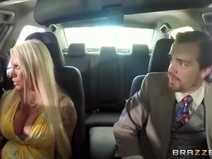 blonde milf persuaded to suck dick