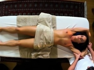 Slutty step sister gets banged by her masseur step brother