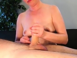 Cock Massage With Huge Load
