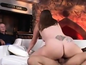 Fat Wife Fucks While Her Husband Watches