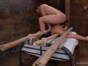 big ass blonde milf gets dominating anal penetration