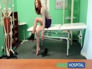 Fake Hospital Innocent redhead gets a creampie prescription free