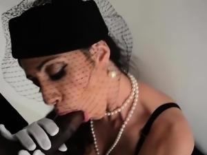 Ariella ferrera and T Real\'s Black Cock